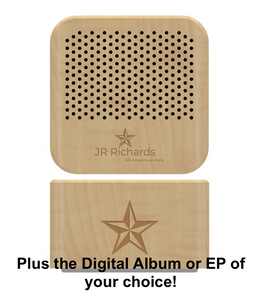 Lazer Engraved Bluetooth Speaker + Digital Album of Your Choice!