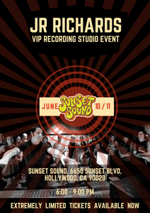 VIP Studio Recording Event (Thursday June 11th) Hollywood, CA - LIMITED!