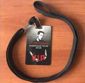 Tour VIP Pass (JR's Private Collection)