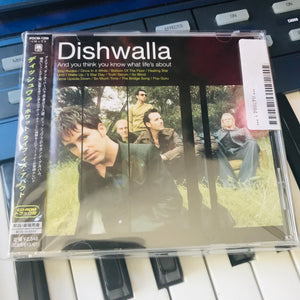 AYTYKWLA -  Dishwalla Japanese Import (JR's Private Collection)