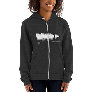 "JR's SOUNDWAVE Series - Hoodie sweater - ""Come And Take Me Home"""