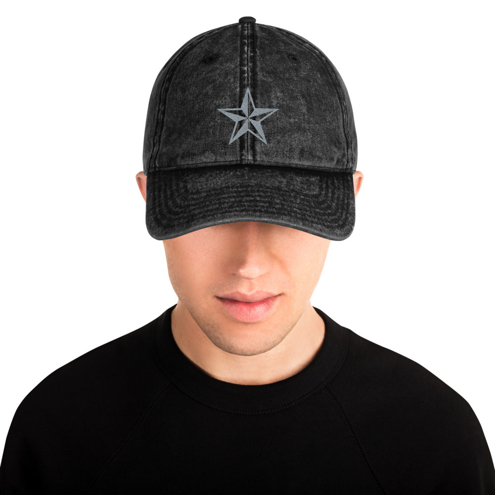 JR Nautical Star - Vintage Cotton Twill Cap