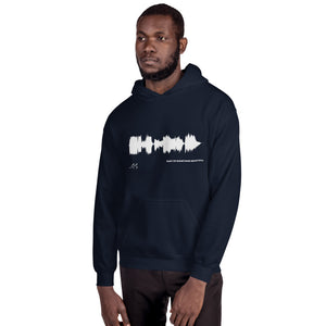 "JR's SOUNDWAVE Series - Unisex Hoodie - ""Part Of Something Beautiful"""