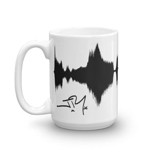 "JR's SOUNDWAVE Series Coffee Mug - ""This Love Will Carry On"""