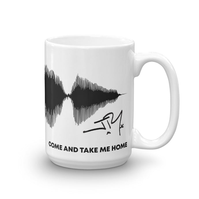JR's SOUNDWAVE Series Coffee Mug - 'COME AND TAKE ME HOME'