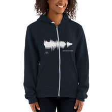 "Load image into Gallery viewer, JR's SOUNDWAVE Series - Hoodie sweater - ""Come And Take Me Home"""