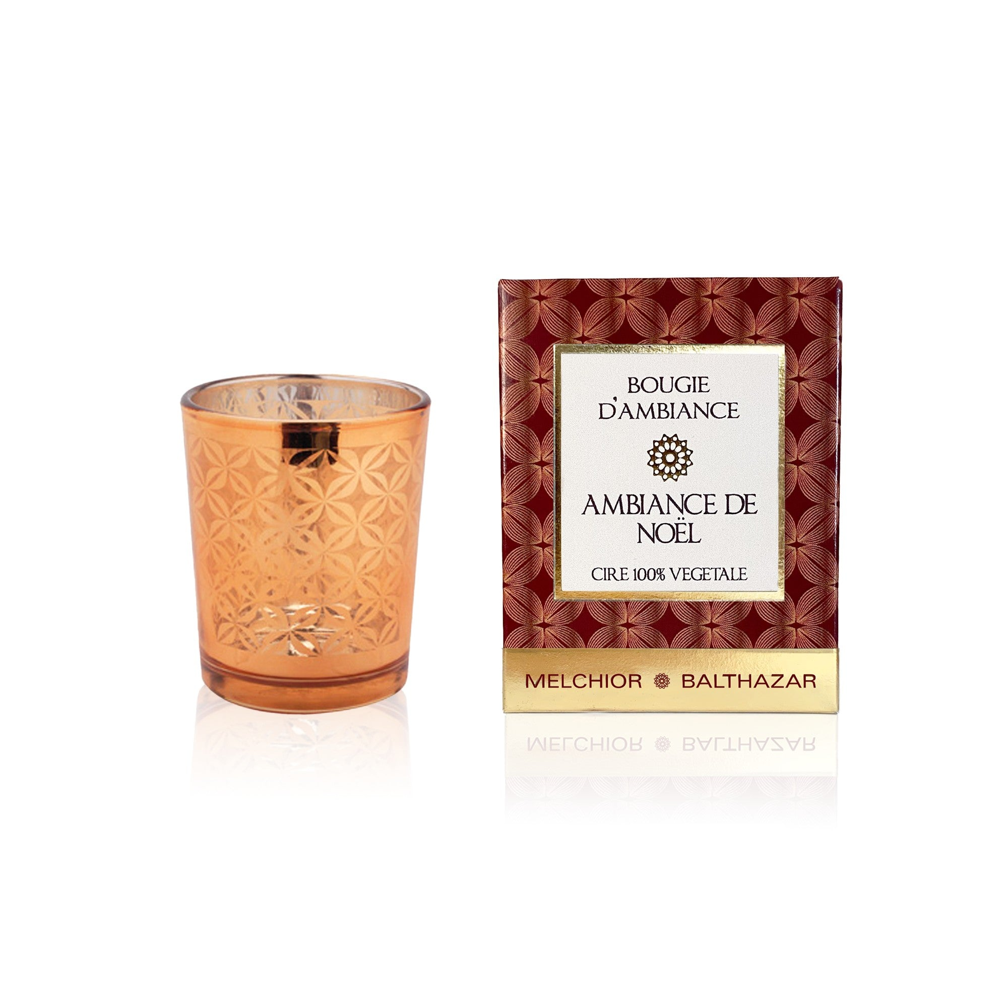 Christmas atmosphere - Melchior & Balthazar Christmas plant candle