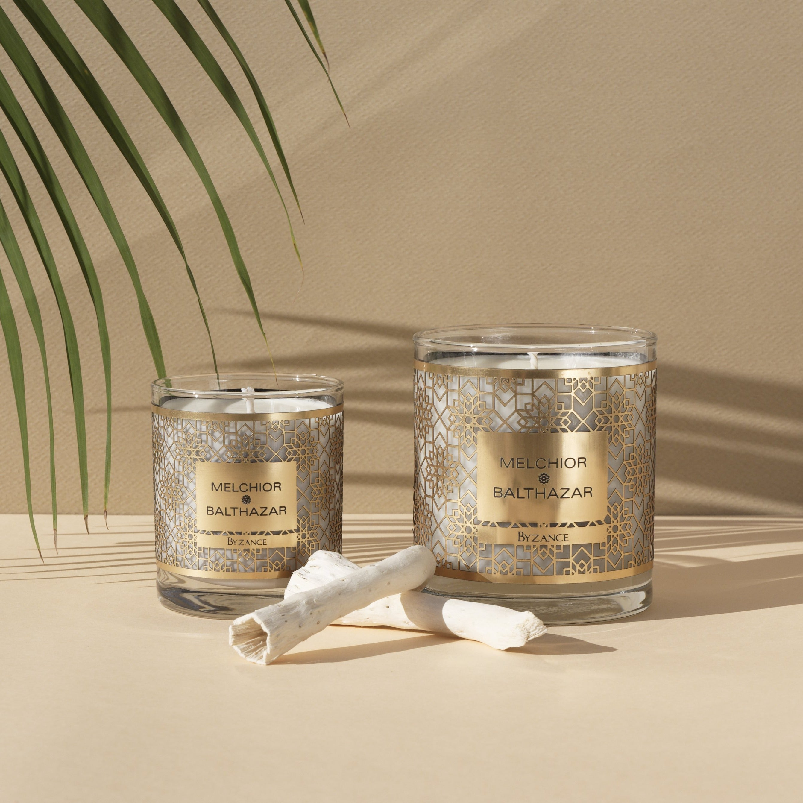 Ambient Vegetable Candles Duo