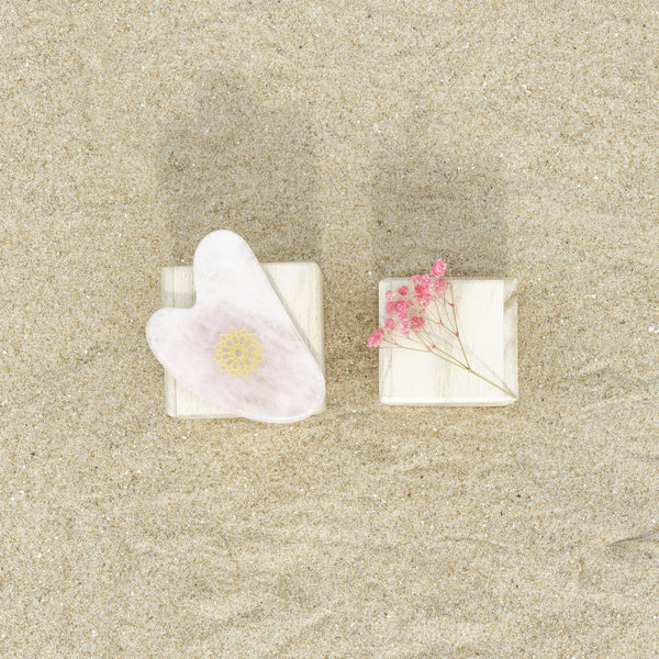 Gua Sha Quartz Rose