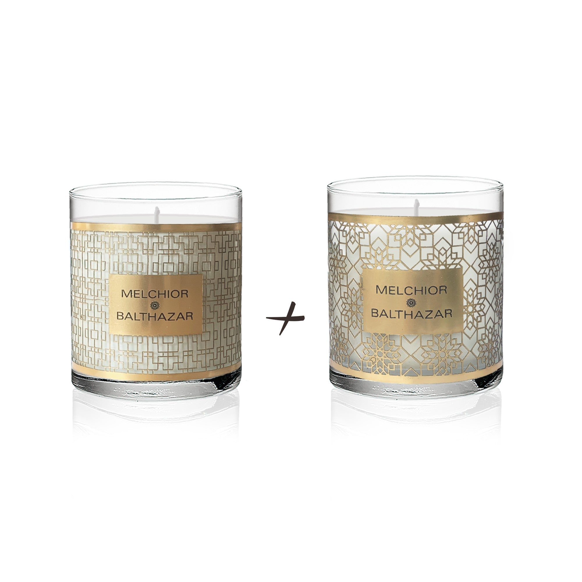 Melchior & Balthazar Ambiance Plant Candles Duo