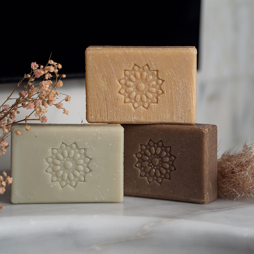 Duo of Melchior & Balthazar care soaps