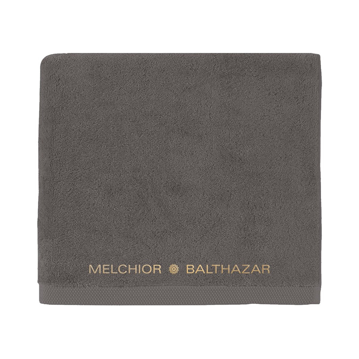 Melchior & Balthazar embroidered bath towel