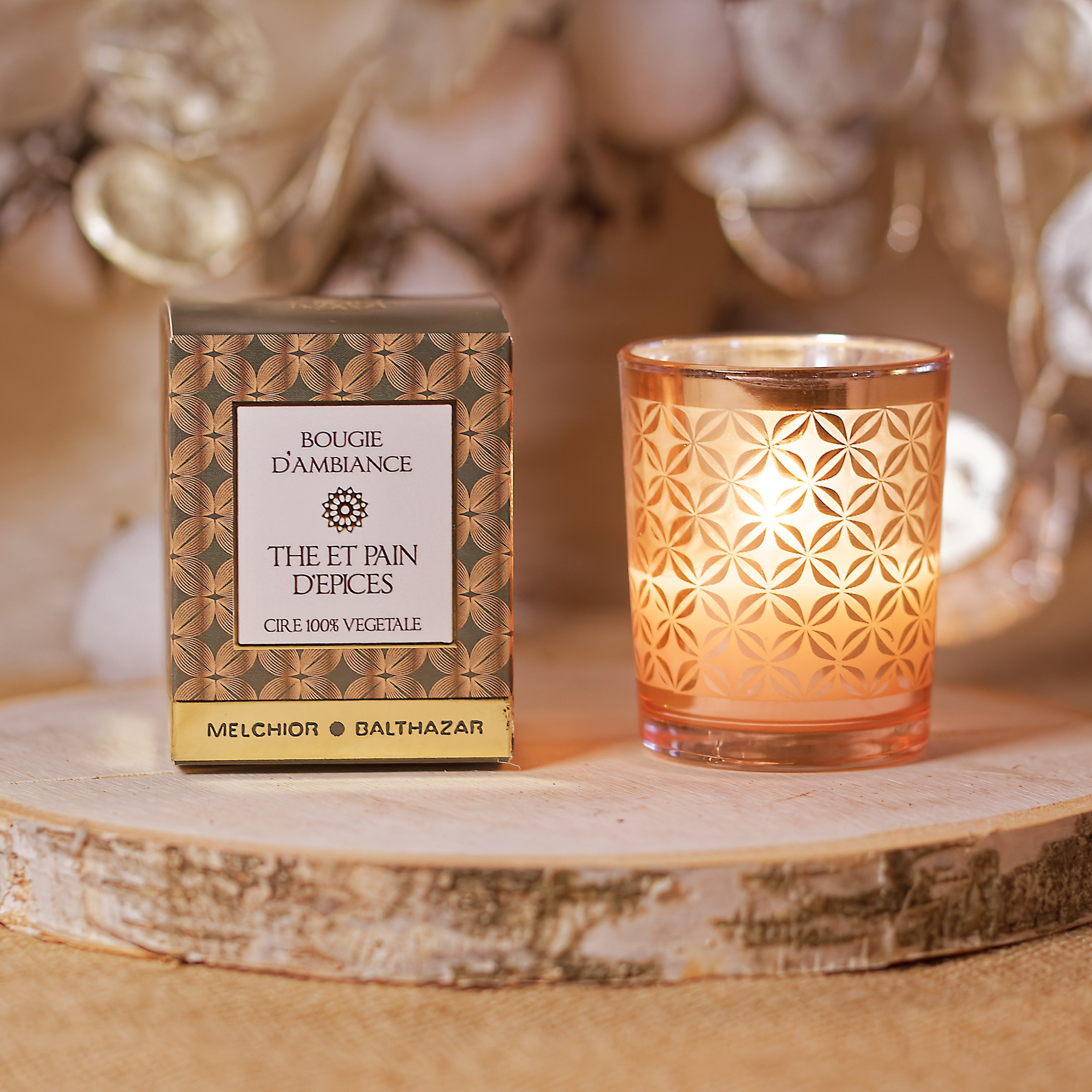 Tea and Gingerbread - Melchior & Balthazar Christmas Plant Candle