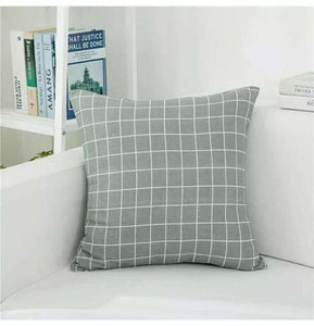 Geometric Pillow Covers