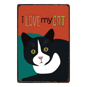 I am a Pet Lover Metal Poster