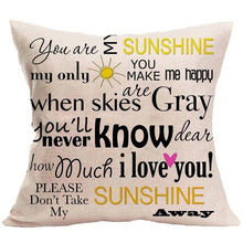 Load image into Gallery viewer, Say something Pillow Covers
