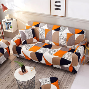 Modern Picturesque Sofa Cover