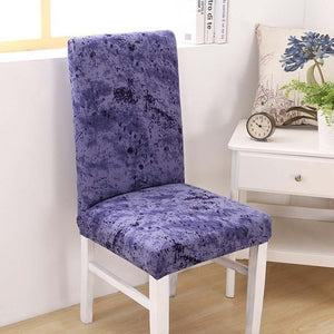 Burst of Ink Chair Covers
