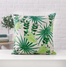 Load image into Gallery viewer, Green Leaves Pillow Covers