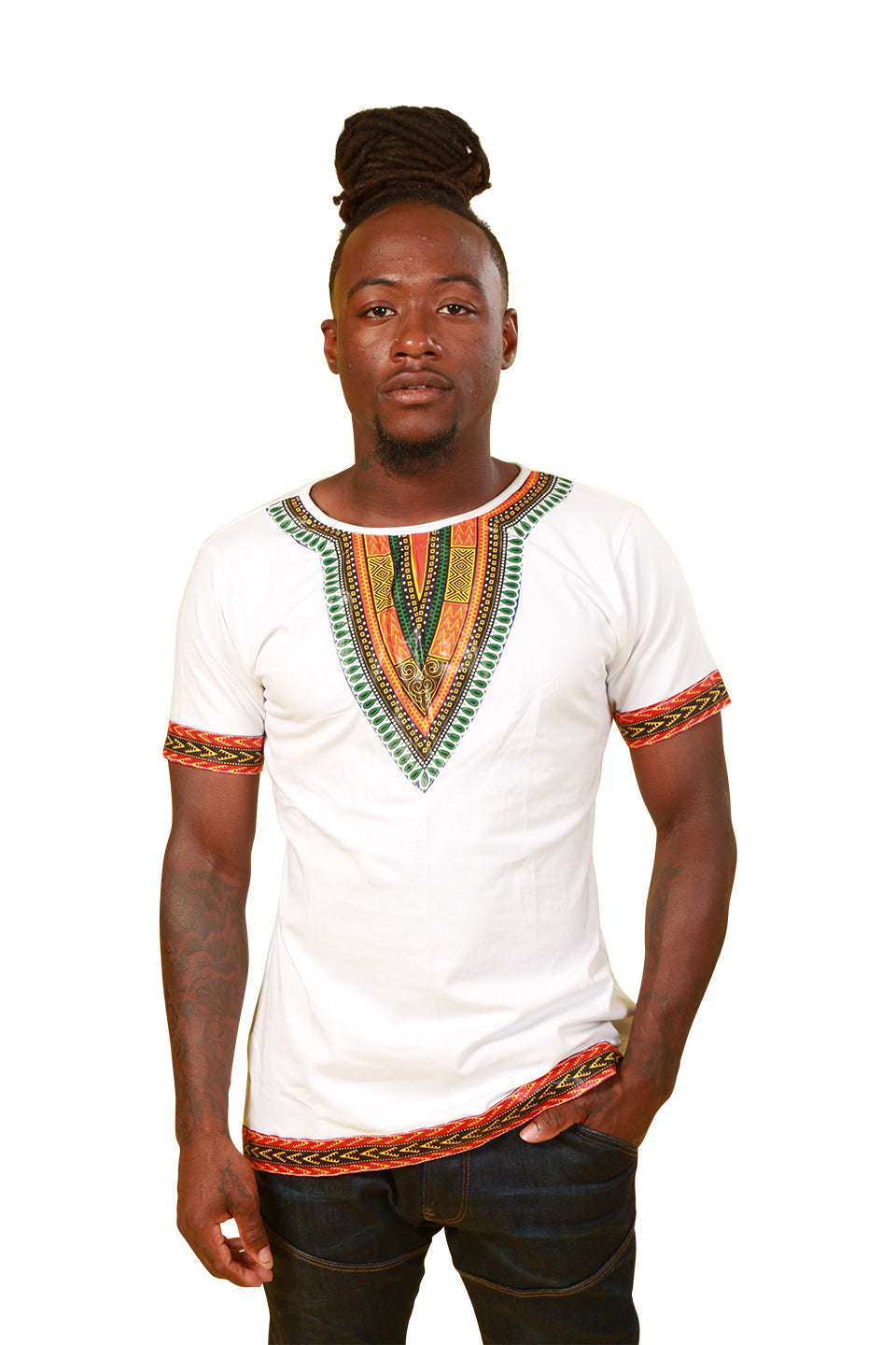 Dashiki Shirt - Men Shirt Nolafrique Male Dashiki White Shirt Men Shirt