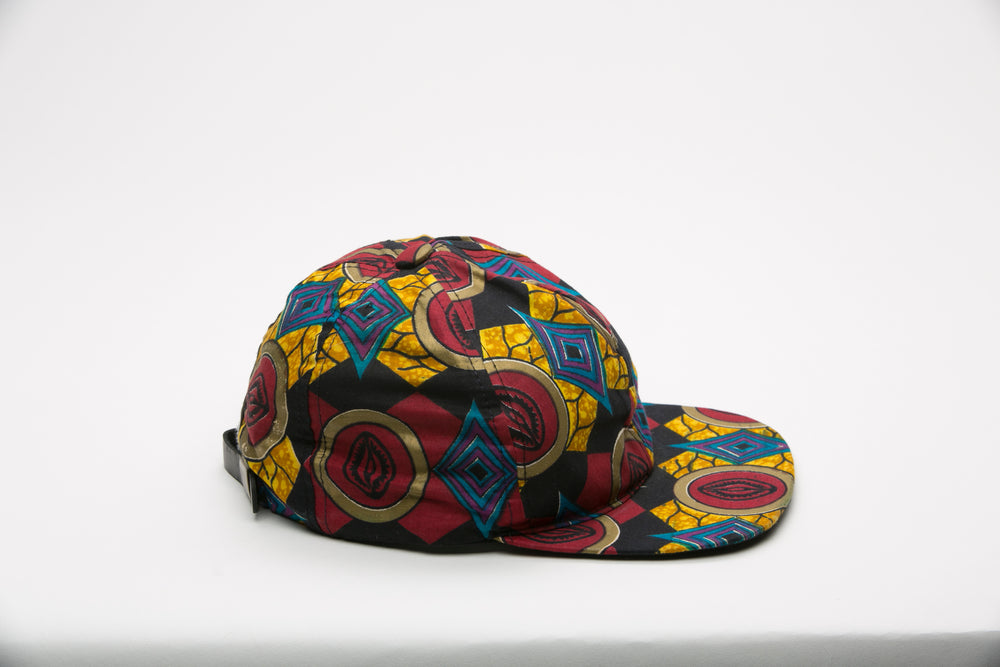 Sidia African Fabric Cap - Hats Nolafrique African Fabric Hat African Print Hat