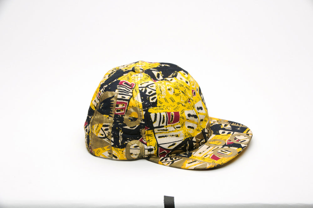 Baba African Fabric Cap - Hats Nolafrique African Fabric Hat African Print Hat Hat