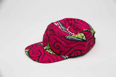 Ibou African Fabric Cap - Hats Nolafrique African Fabric Hat African Hat Hat