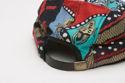 Aphrodite African Fabric Cap - Hats Nolafrique African Fabric Hat African Print Hat