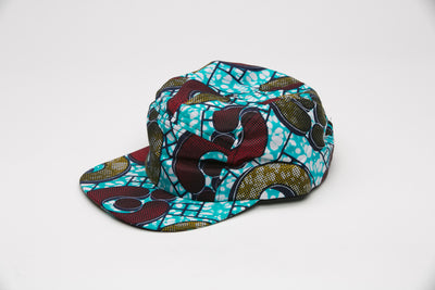 Yugo African Fabric Cap - Hats Nolafrique African Fabric Hat African Print Hat