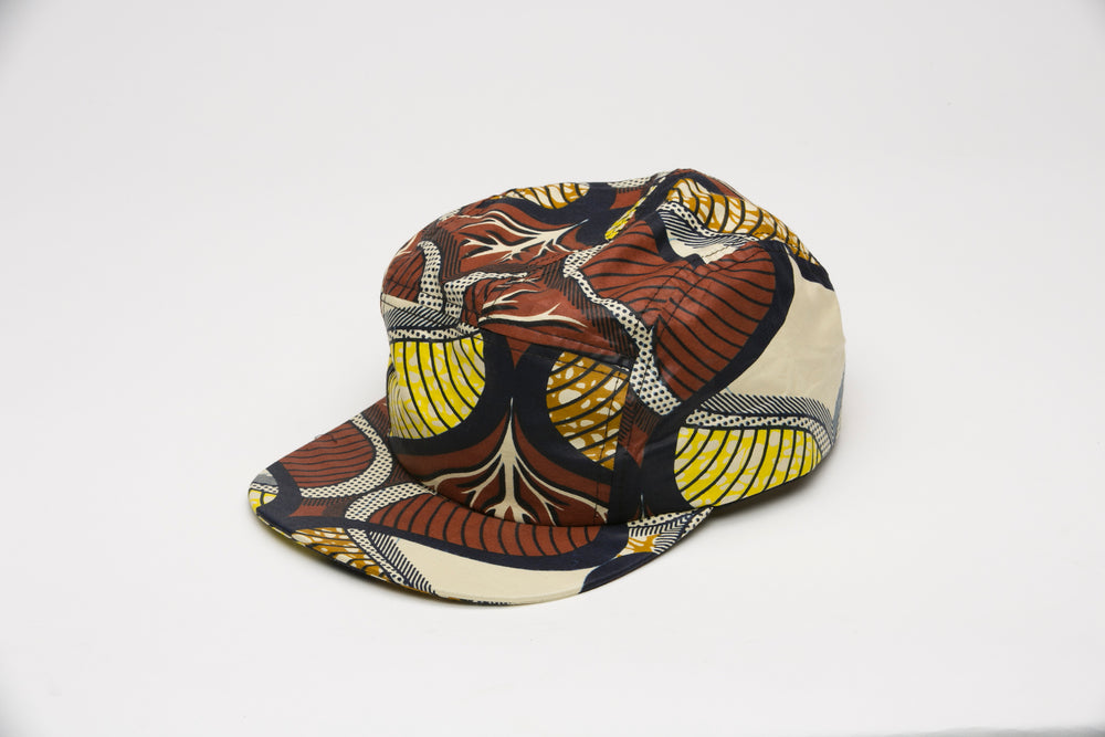 Ekku African Fabric Cap - Hats Nolafrique African Fabric Hat African Print Hat