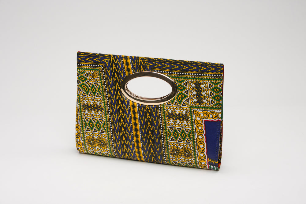 African Fabric Clutch - Bags Nolafrique Bags