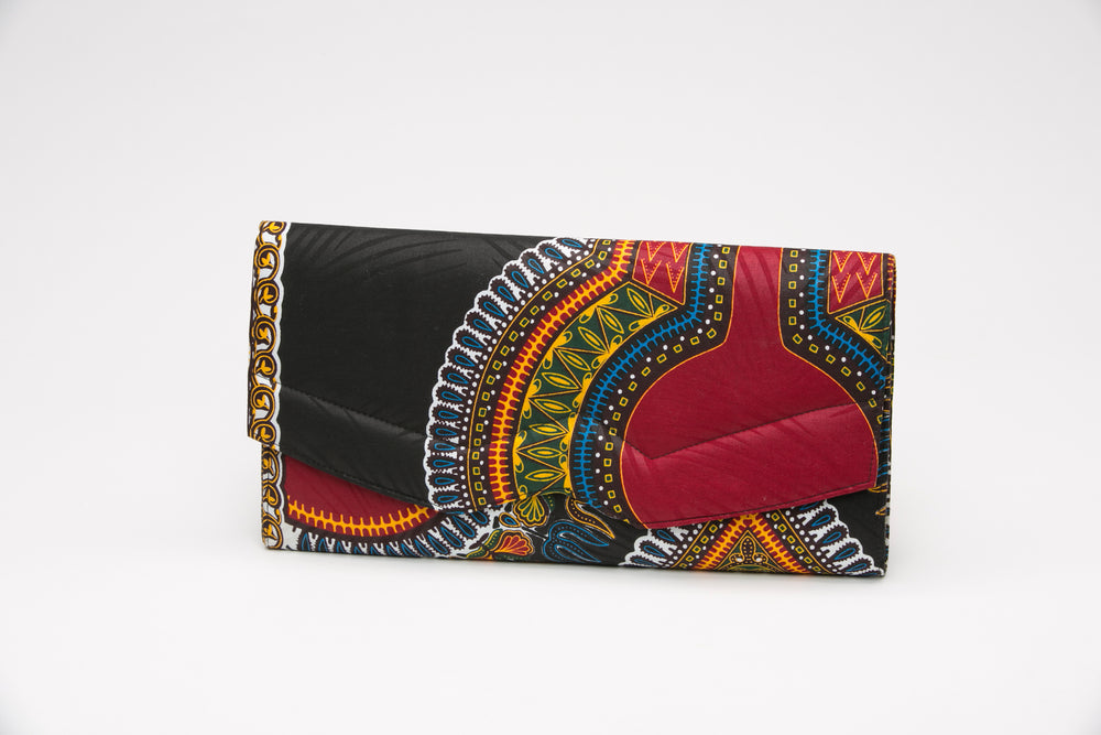 Black Dashiki Clunch - Bags Nolafrique Bags