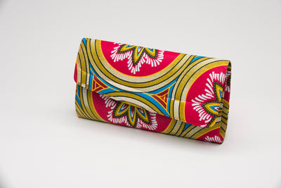 Swazi African Fabric Clutch - Nolafrique