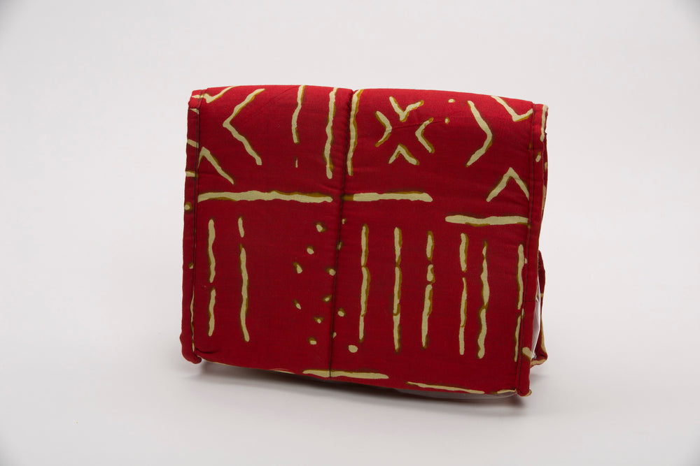 Red Mud Clutch - Bags Nolafrique Bags