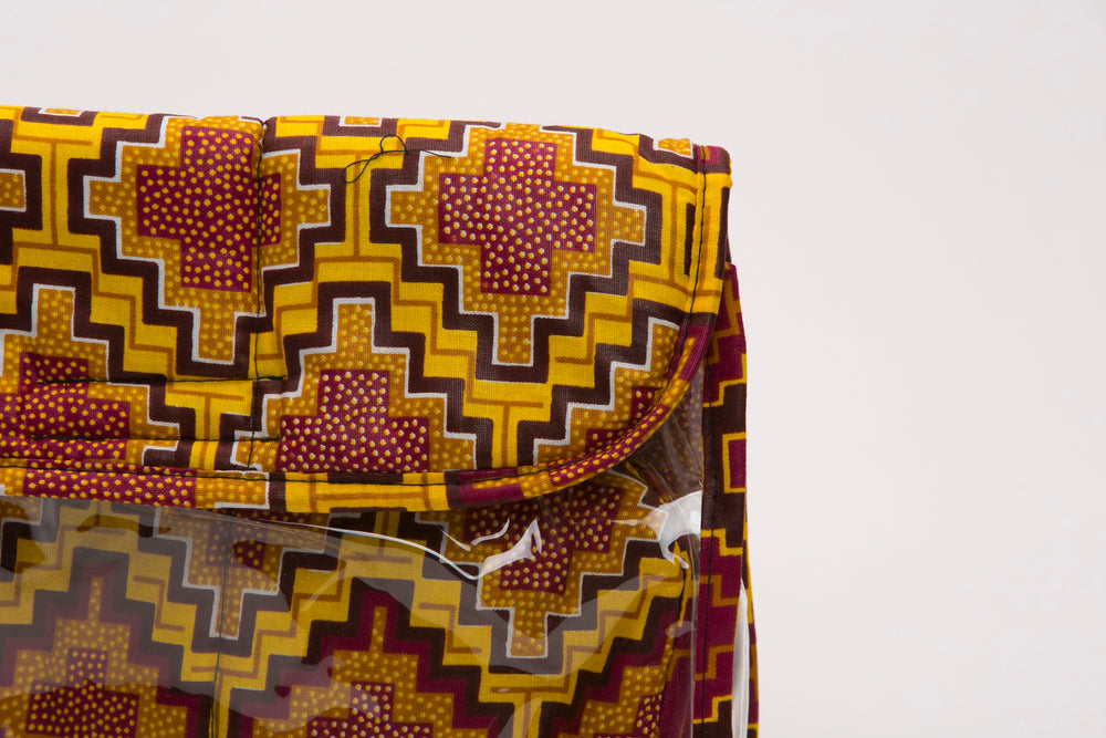 Lambaya African Fabric Clutch - Nolafrique