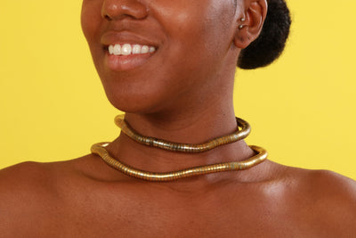 The Golden Choker - Accessories Nolafrique Accessories Necklace