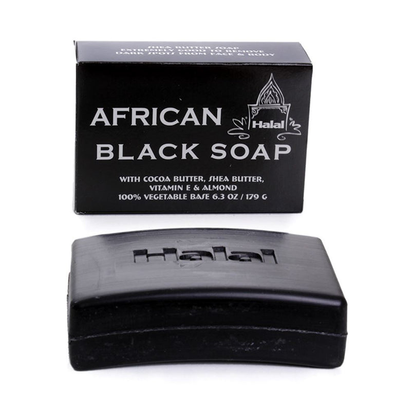 African Black Soap Bar - Nolafrique African Soap