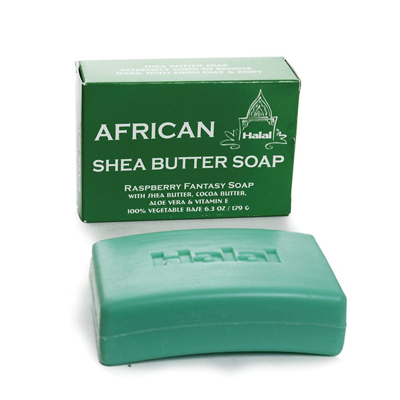 African Raspberry Shea Butter Soap - African Soap Nolafrique African Soap
