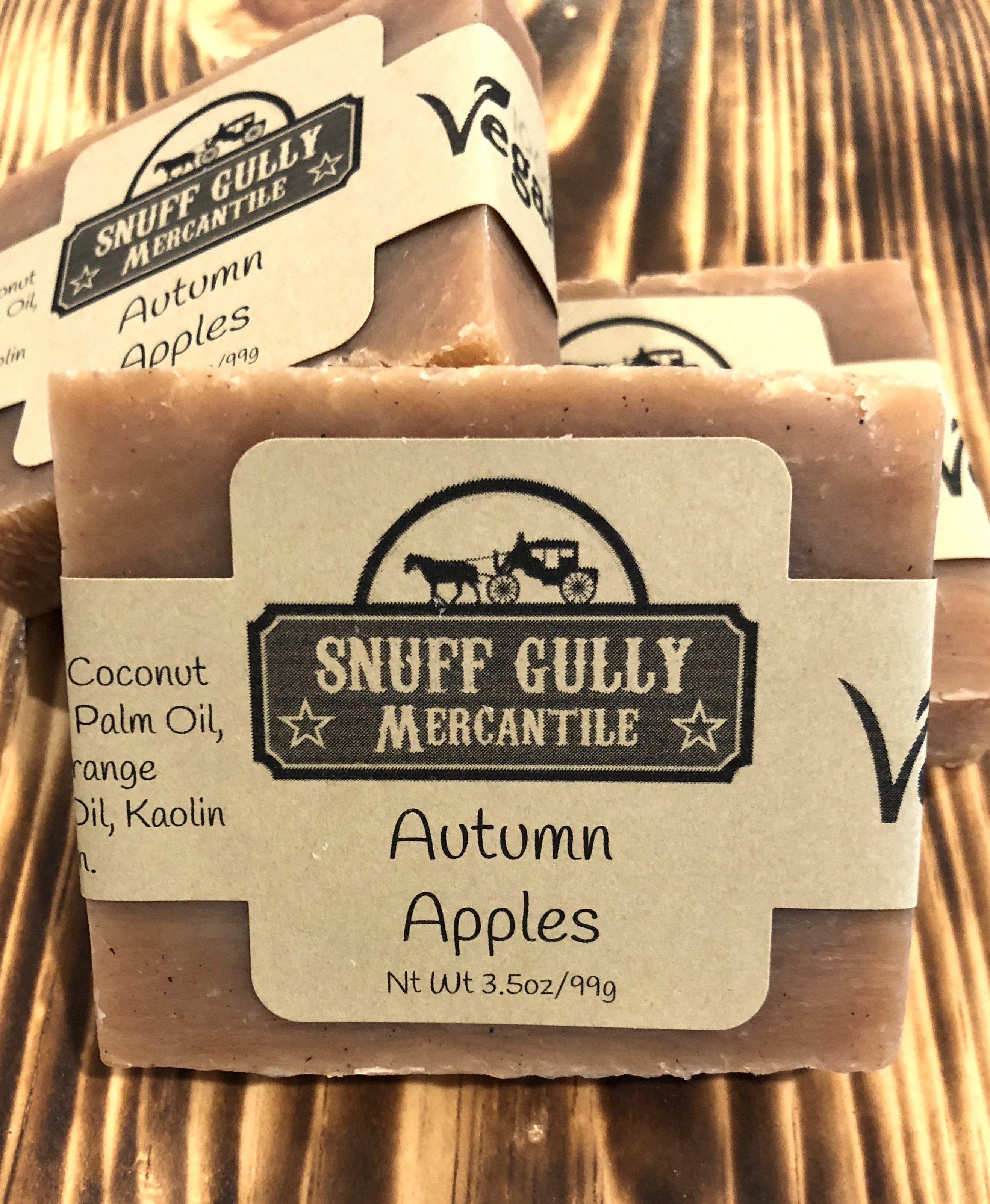 Autumn Apples All Natural Soap - 100% Vegan Ingredients