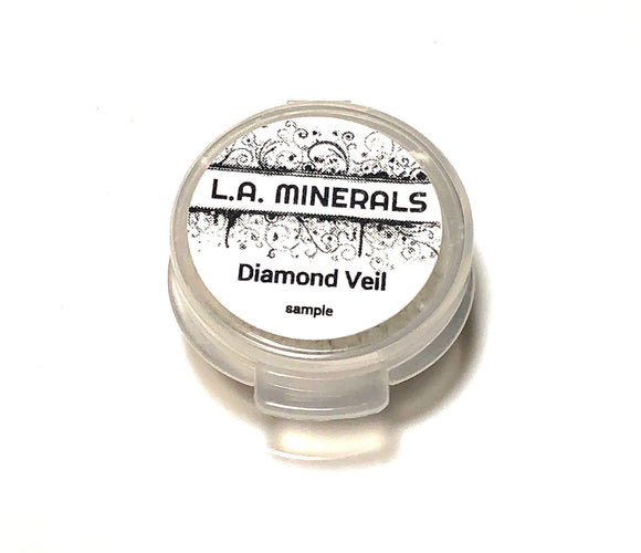 Sample Diamond Mineral Veil - L.A. Minerals