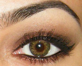 brown mineral eyeshadow pigment