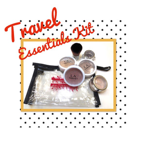 Travel Essentials Kit-Kit-L.A. Minerals-E.O.L.A., LLC dba L.A. Minerals