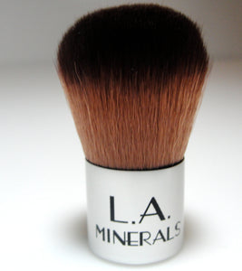 Synthetic Baby Kabuki Makeup Brush - L.A. Minerals
