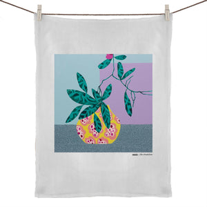"""Natural Habitat"" Tea Towel 