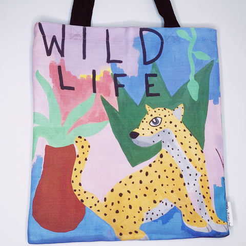 'Wild Life' Tote Bag | Musée x The Walking Creative