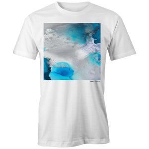 "Men's Organic ""Stormy Waters"" Tee 