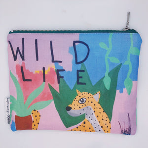 'Wild Life' Clutch | Medium | Musée x The Walking Creative