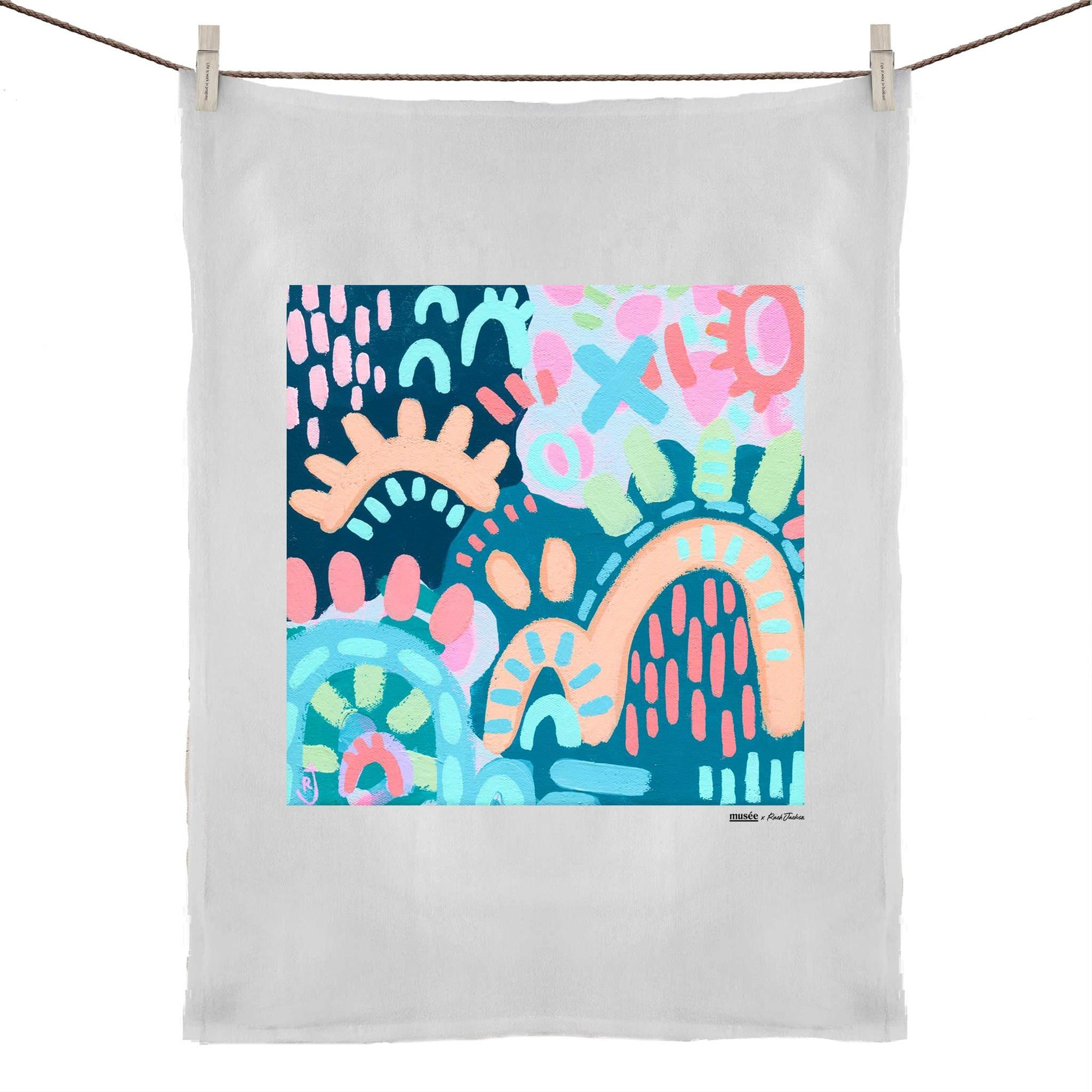 """Winter Time"" Tea Towel 