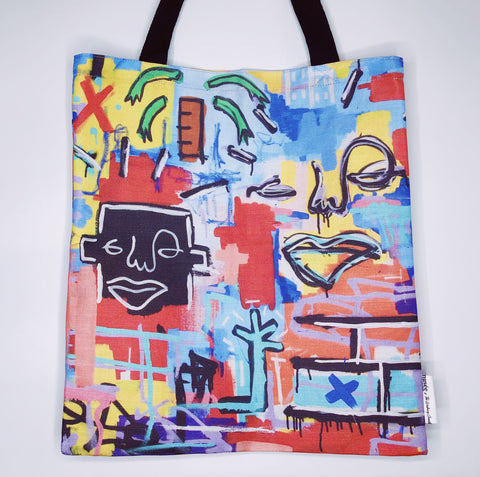 'Far Away From What is Home' Tote Bag | Musée x The Walking Creative