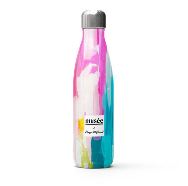 Stainless Steel Water Bottle | Musée x Maggi McDonald